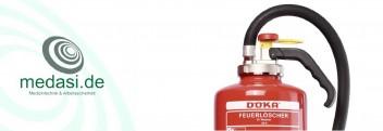 Feuerlöscher bis 6 kg Pulver