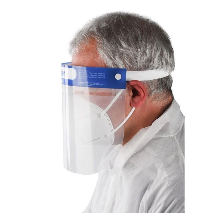 Gesichtsschutzvisier mit Anti-Fog, EN166:2001, EU 2016/425