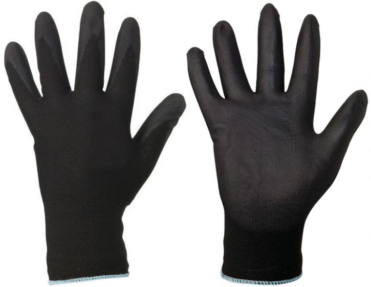 Polyester-Handschuh schwarz
