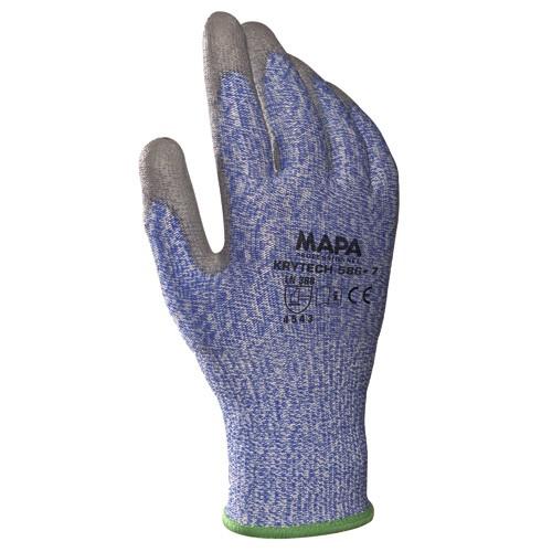 Schnittschutzhandschuhe KRYNIT 586 blau