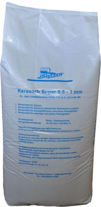 Ölbindemittel Kerasorb Super Plus Körnung: 0,3-0,7 mm Typ III/R