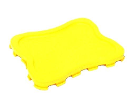 Deckel für Entsorgungsbehälter abox gelb
