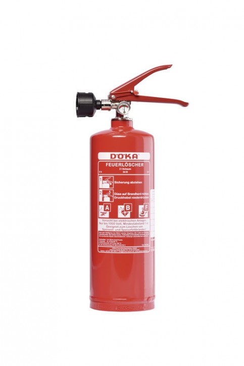 Fettbrandfeuerlöscher DÖKA SN3Bio+ 3L 2LE