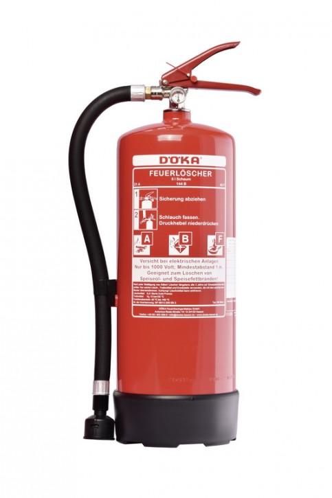 Fettbrandfeuerlöscher DÖKA SN6Bio+ 6L 6 LE