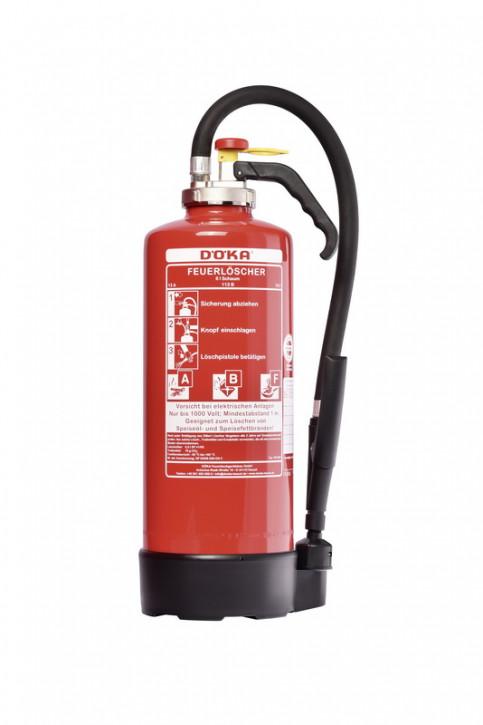 Fettbrandfeuerlöscher DÖKA Si6BS Bio+  6L LE 6