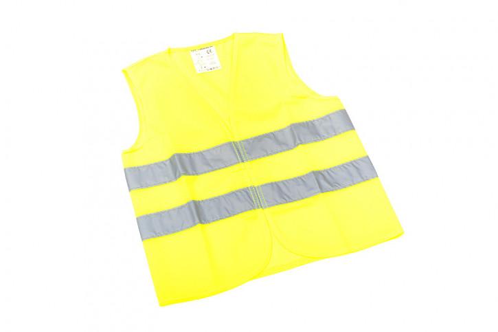 Kinder-Warnweste gelb - DIN EN 1150 - Polyester