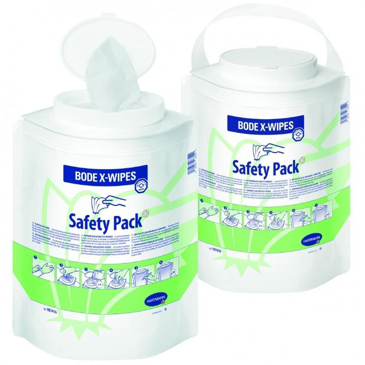 BODE X-Wipes Safety Pack Einweg-Vliestuchspendersystem 90 Tücher