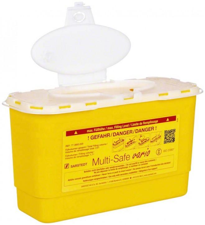 Multi-Safe vario 2000 Entsorgungsbox 2,0 Liter