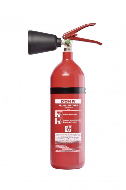 Kohlendioxidfeuerlöscher DÖKA KS2CS-1 2kg LE 2