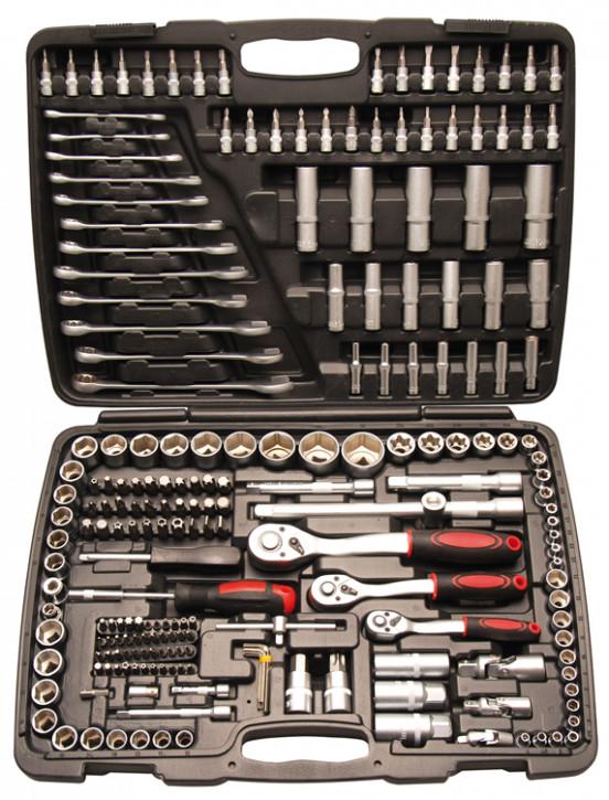 Steckschlüsselsatz, 216-tlg.