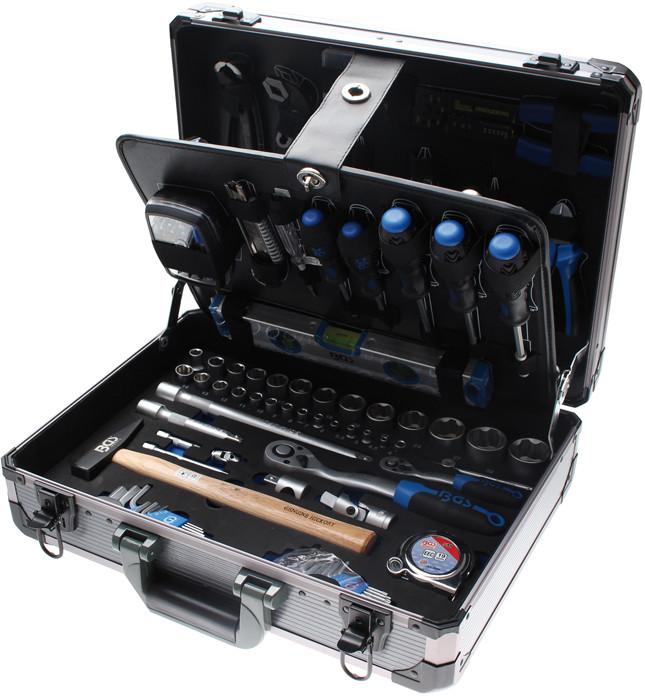 Profi-Werkzeugsatz im Alu-Koffer, 149-tlg.