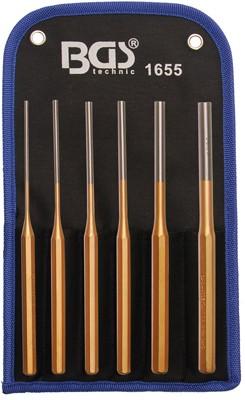 Splintentreiber-Satz, 3 - 10 mm, 200 mm, 6-tlg.