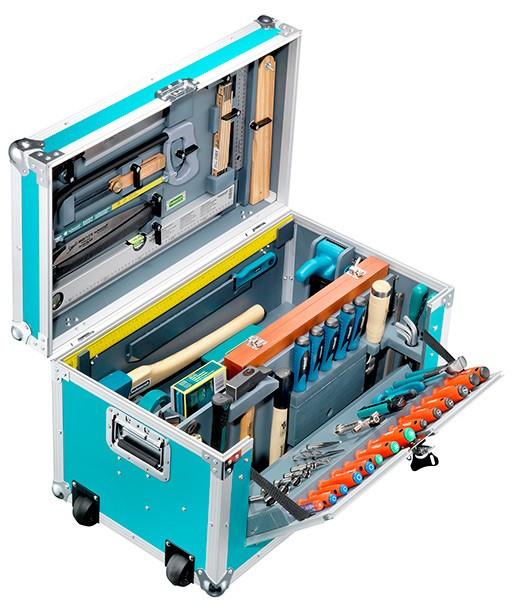 Leichtbau-Zimmerei-Werkzeugkiste 184 tlg.