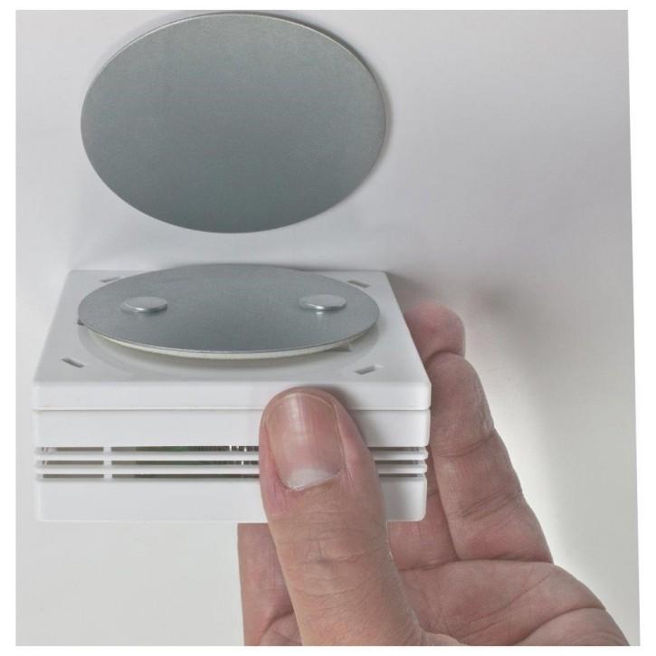 Magnetbefestigung für Rauchwarnmelder, Ø 70 mm