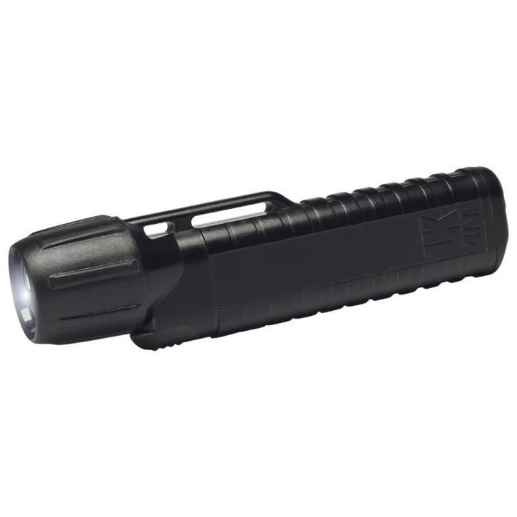 Helmlampe UK 4AA eLED CPO, ES Frontschalter, schwarz