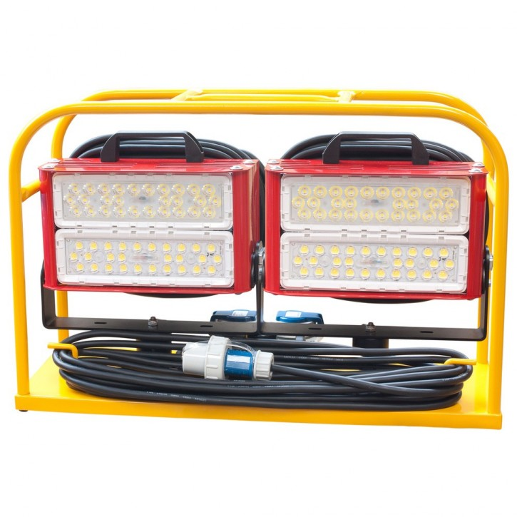 Scheinwerfercontainer-Set, 2x Gladius 2k LED