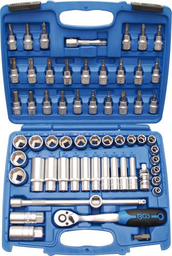 Steckschlüsselsatz 10 (3/8), 61-tlg.