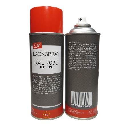 Lackspray auf Acrylbasis, RAL 7035 Lichtgrau 400ml