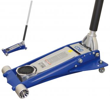Rangier-Wagenheber hydraulisch extra flach 2 t