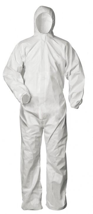 Chemieschutzoverall Kategorie 3, Typ 5/6 Weiß