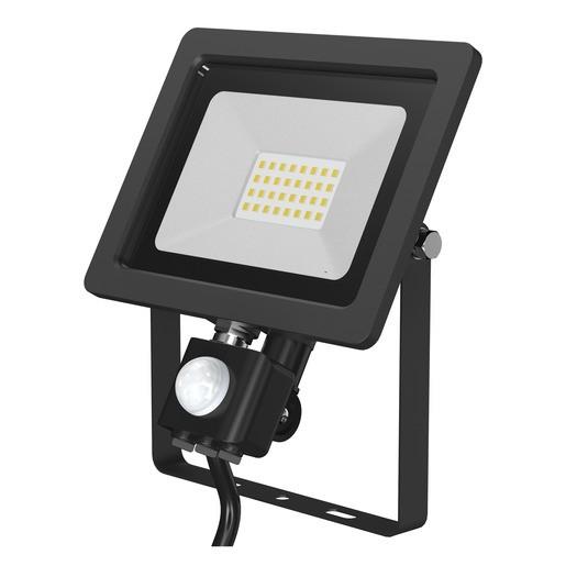 LED Flutlichtstrahler 20W 6500K IR-Sensor IP65 0,5m Kabel 220-240V