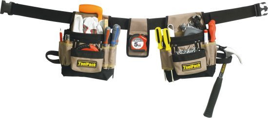 Gürteltaschen für Werkzeug 4-teilig