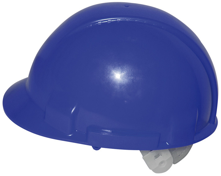 ABS-Bauhelm blau, einstellbar