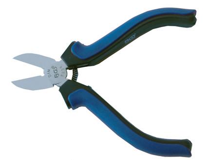 Elektronik-Seitenschneider, mit Feder, 115 mm