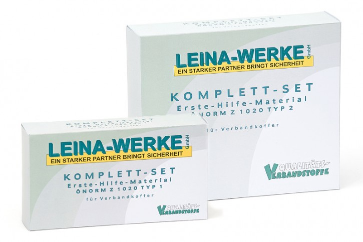 "Erste-Hilfe-Material ""ÖNORM Z 1020 Typ II"" in Faltschachtel"