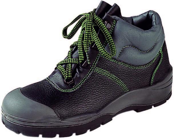 Sicherheitsstiefel S3 - Farbe: schwarz/grün