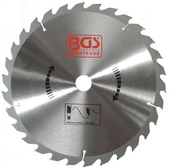 Hartmetall-Kreissägeblatt, Durchmesser 190 mm, 24 Zähne Ø 30 mm