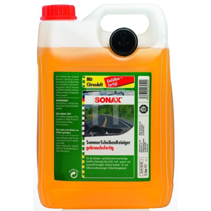 Scheibenreiniger Sonax gebrauchsfertig Citrus 5 Liter