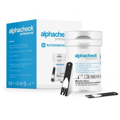 Alphacheck Professional Teststreifen (50 T.)