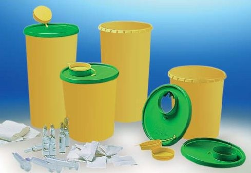 Haeberle Medi-Müll 2,5 Liter Entsorgungsbox