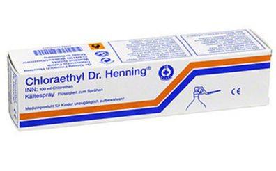 Chloraethyl Dr. Henning 100ml Sprühflasche mit Hebelverschluss
