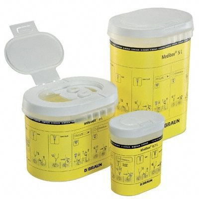 Medibox Kanülensammler 2,4 Liter
