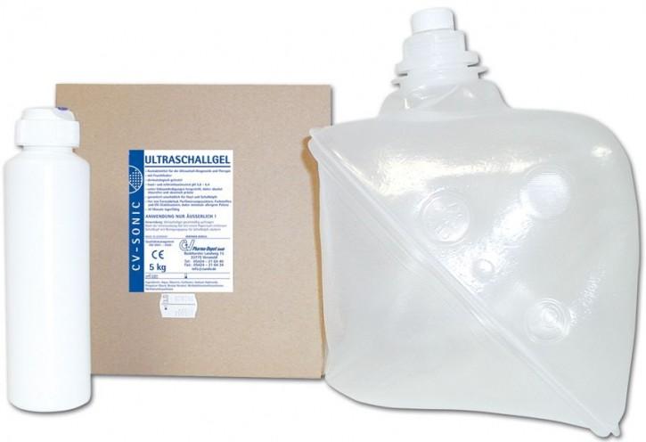 Ultraschallgel CV-Sonic 5 Ltr. und 250ml Leerflasche