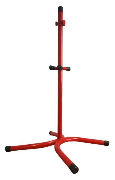 Bodenständer für 2 Feuerlöscher RAL 3000 rot