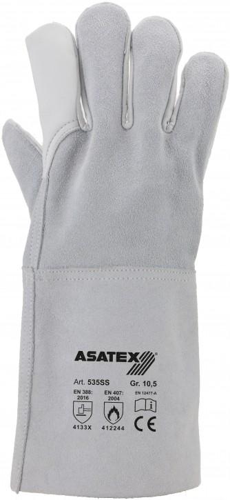 Schweißer-Handschuh - Rindleder Gr.10,5 12 Paar