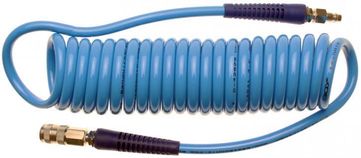 Druckluft-Spiralschlauch, 6 m Innendurchmesser: 8 mm