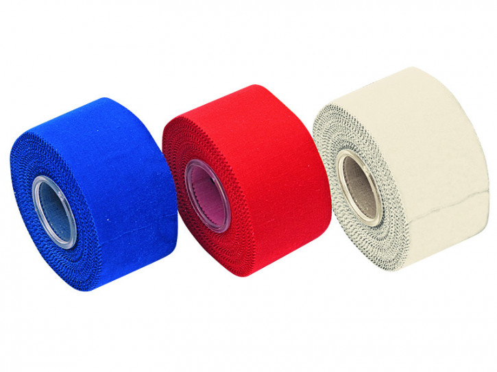 Tape - Verband 3,8 cm x 10 m rot 12 Rollen