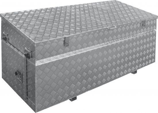 Aluminium-Werkzeugkiste Pritschenbox 1770 x 860 / 760 x 740 mm
