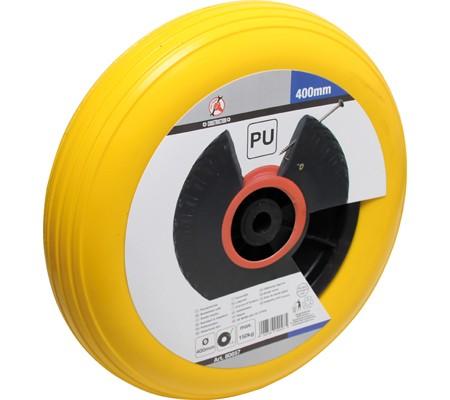 PU-Rad für Schubkarre, gelb, 400 mm
