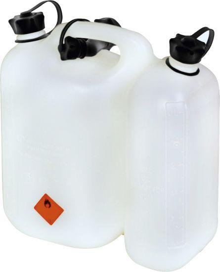 Kombikanister 5 Liter Benzin + 3 Liter Öl
