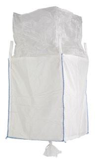 Big Bag mit Auslaufstutzen am Boden 90 x 90 x 115 cm SWL 1.000 kg