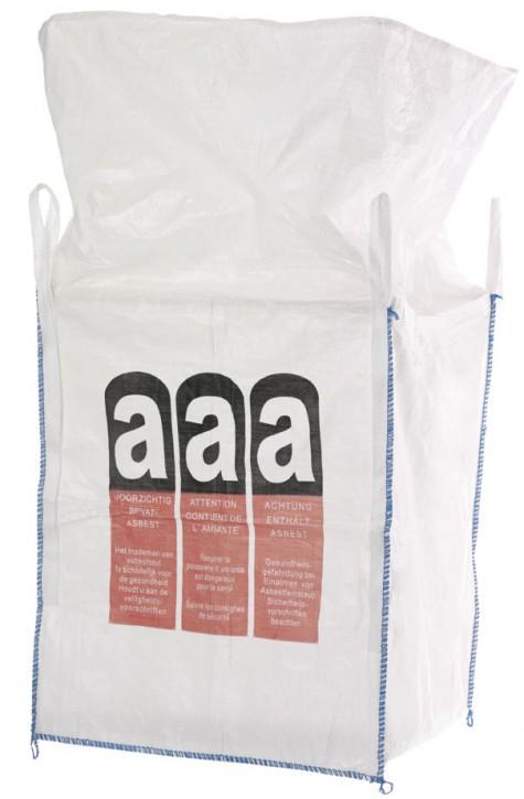 Big Bag Asbest 90 x 90 x 110 cm SWL 1.000 kg