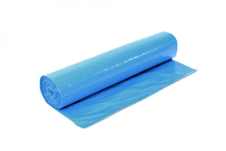 Müllsack 120 Liter blau 20my 70x110cm Rolle zu 25 Stck.