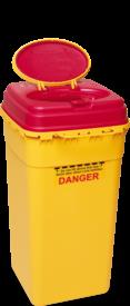 Multi-Safe euroMatic 6000 gelb, Entsorgungsbox 6 Liter