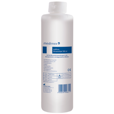 Ultraschallgel medimex 500 ml