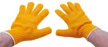Strickhandschuhe, Antirutsch Größe 10